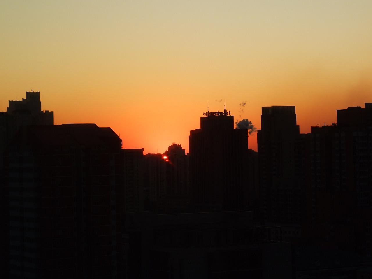 lever de soleil vers 7h du matin