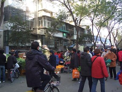 au marché de Tuan Jie Hu
