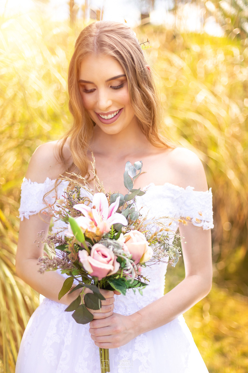 foto do buquê das noivas não pode deixar de ter no ensaio de pós casamento