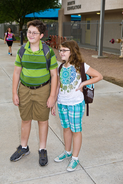 First Day of School at CCS