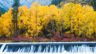 The Dam in Fall