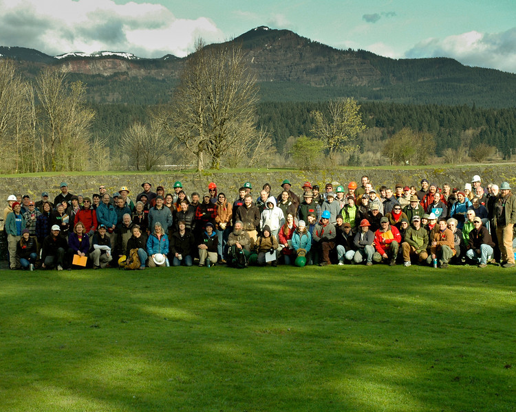 4/17/2011 Trail Skills College Group Photo at Cascade Locks