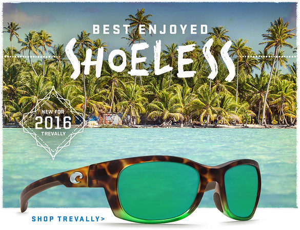 Costa del Mar Sunglasses email and social media image.  June 2016.