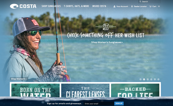 Costa del Mar website, December 2015.