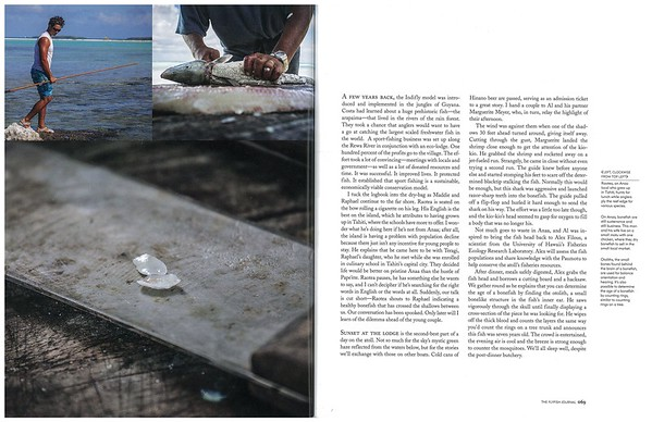 The Fly Fish Journal expedition feature.  Fall 2015.