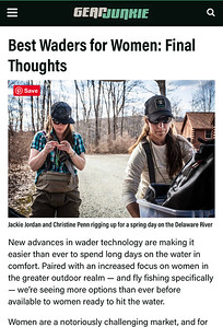 Writing / photography for Gear Junkie Hunt / Fish.  Ongoing.