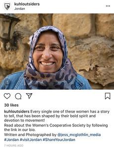 Instagram posts.   September 2018.