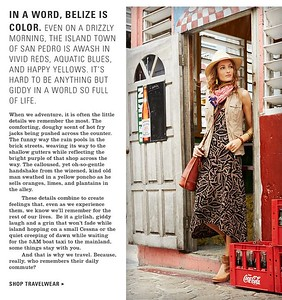 Magazine editorial written after assignment in Belize.  Work created in-house with The Orvis Company, Manchester, Vermont.