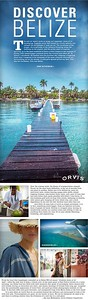 Belize editorial storytelling - written content.  Work created in-house with The Orvis Company, Manchester, Vermont.