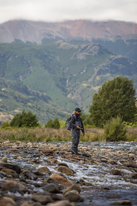 Fly fishing Patagonia, Chile, near Coyhaique, for trout. Camping in a van and tents with a dog and a raft.  Jess McGlothlin Media, for Orvis and Men's Journal.   March 2020.