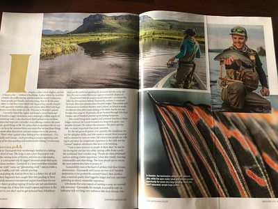 Magazine feature in American Angler.  February 2019.