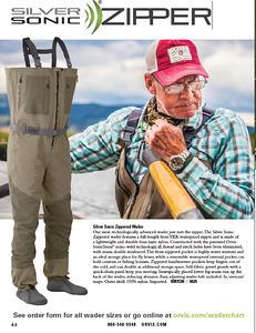 Orvis 2015 Summer Fishing catalog.