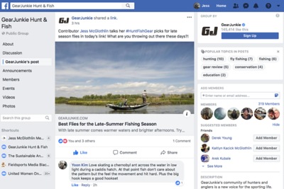 Best Flies for Late Summer Fishing. Article and images for Gear Junkie Hunt & Fish.  August 2018.