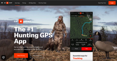 onX Hunt home page image.  Shot on assignment for onX Hunt in Pennsylvania, January 2019.