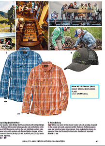 Images used in Orvis catalog.   Work created in-house with The Orvis Company, Manchester, Vermont.
