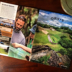 Imagery and editorial in Orvis catalog. Shot on assignment in Belize.  Work created in-house with The Orvis Company, Manchester, Vermont.