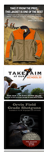 Editorial marketing writing for Orvis.  Work created in-house with The Orvis Company, Manchester, Vermont.