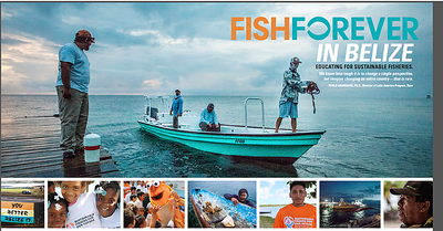 From-the-field reporting for Orvis in Belize —imagery (header and some smaller images) and copy.  Work created in-house with The Orvis Company, Manchester, Vermont.