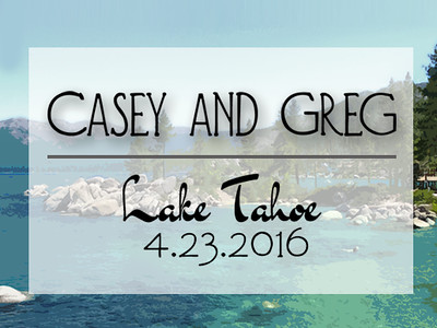 Casey and Greg 4.23.16