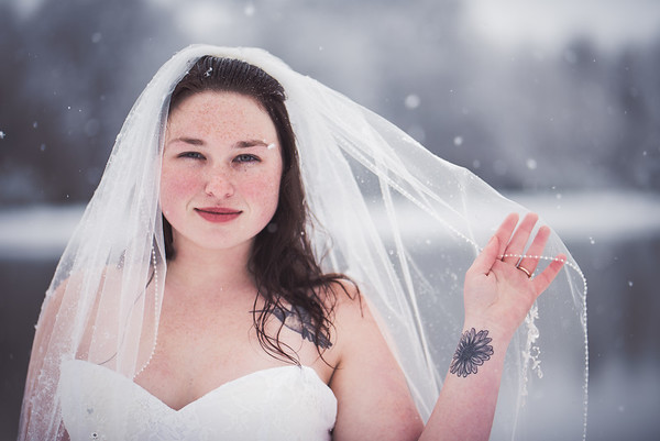 Casey's SNOW Bridal Session
