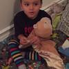 Singing Twinkle Twinkle (age 4)