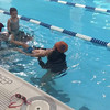 First true swimming lesson