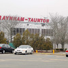 Raynham-Taunton Greyhound Race Track is trying to get one of the proposed slots parlors. SENTINEL & ENTERPRISE/JOHN LOVE