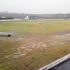 Raynham-Taunton Greyhound Race Track is trying to get one of the proposed slots parlors. A view of the what the inside of the track looks like on Thursday. This is a view of the track that has not been used since Dec 2009. SENTINEL & ENTERPRISE/JOHN LOVE