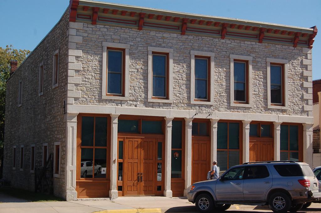 Site of National Park Headquarters for the Tallgrass Prairie Preserve.