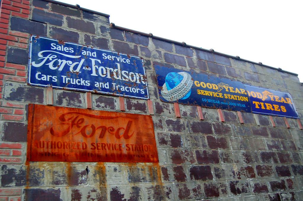 Old Ford dealership.
