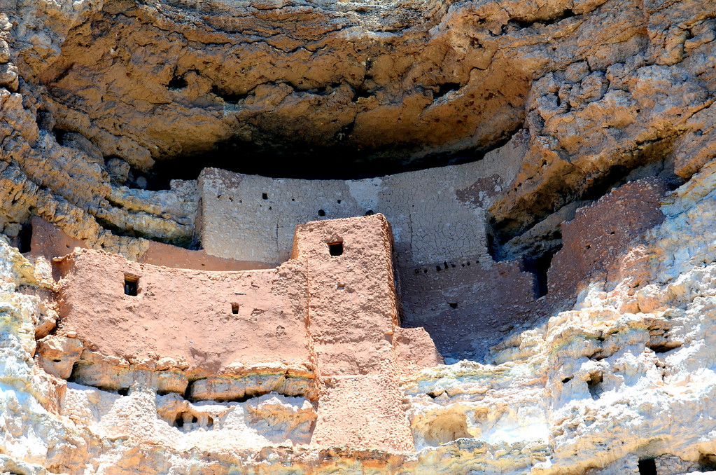 """Sinagua people inhabited this """"oasis"""" along Beaver Creek for over 400 years. Montezuma Castle is said to be one of the best preserved cliff dwellings in Norh America."""