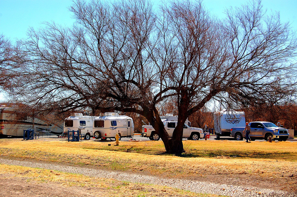 007 <br /> RV Park at Rio Grande Village, home for a couple of days.