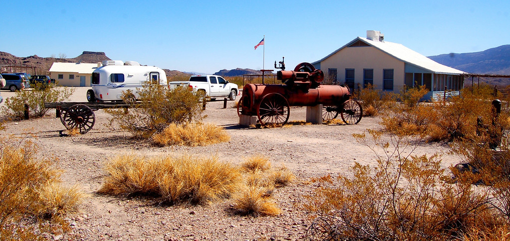 Steam engine was used to pump water from the Rio Grande to the cotton and other fields that were once farmed in the river valleys around Castolon.