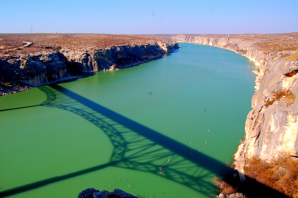 Pecos River bridge near Lake Amistad