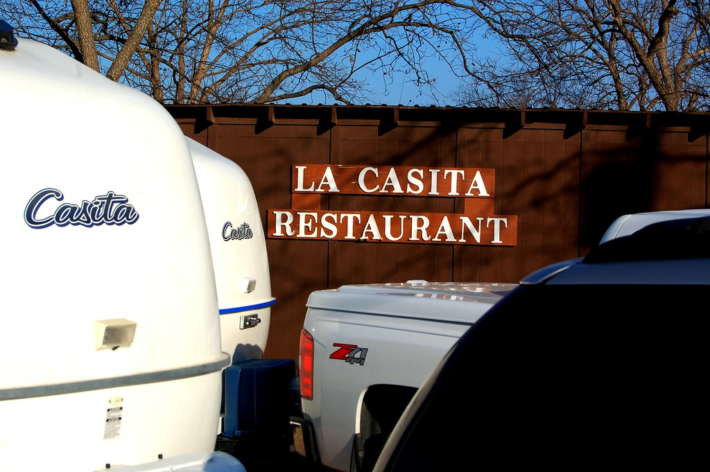 We found this special restaurant along the way in Menard, Texas.