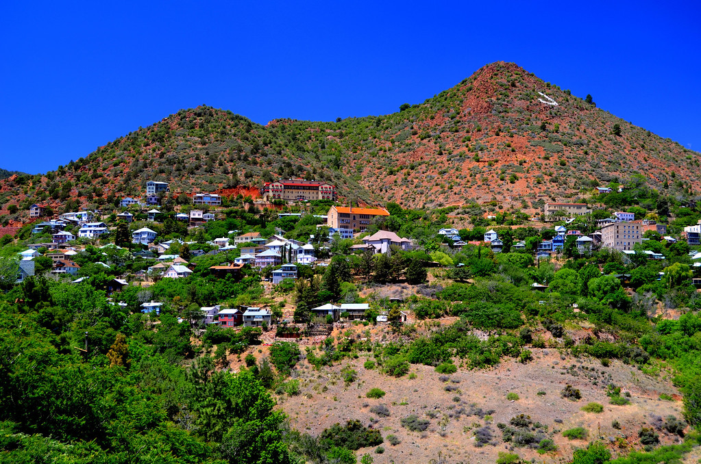 """Over 1 billion dollars in gold, silver, and copper were taken out of the mine on the hill were Jerome, Arizona is located. Once called the """"Most wicked"""" town in the West, Jerome is now a thriving artist community and a very interesting place to spend the day."""