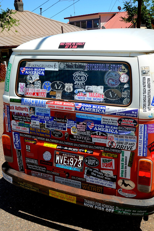 Pretty sure the owner of this van attended all of the Grateful Dead concerts.