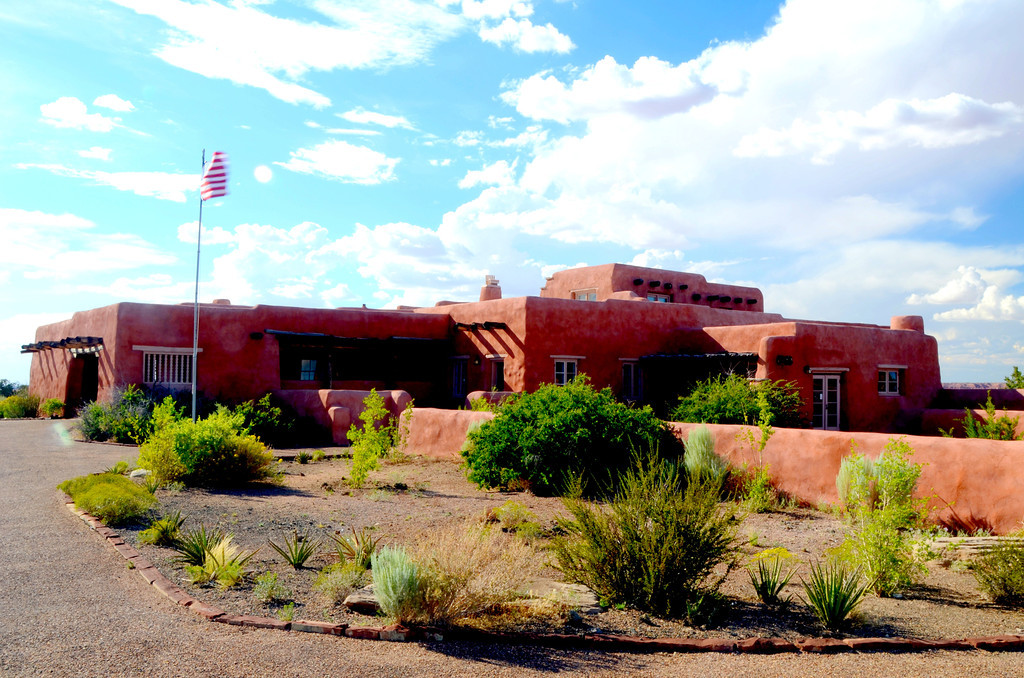 No food or lodging is available at the Painted Desert Inn these days. I took some time to explore the building and its history. A trail to the Painted Desert Wilderness area starts at the Inn.