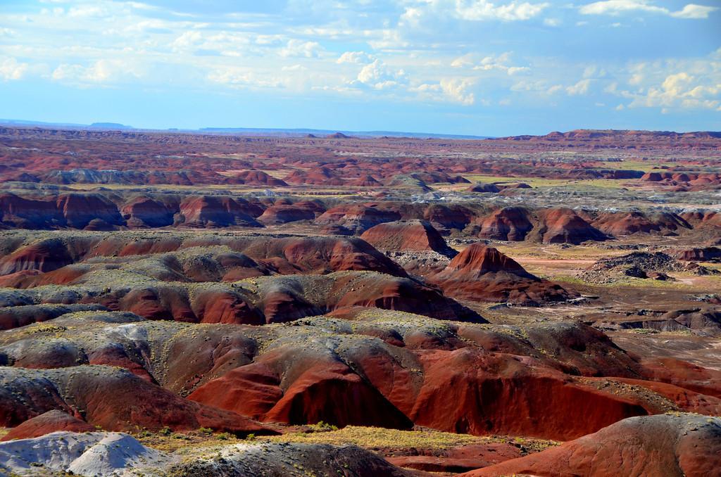 Painted Desert Badlands