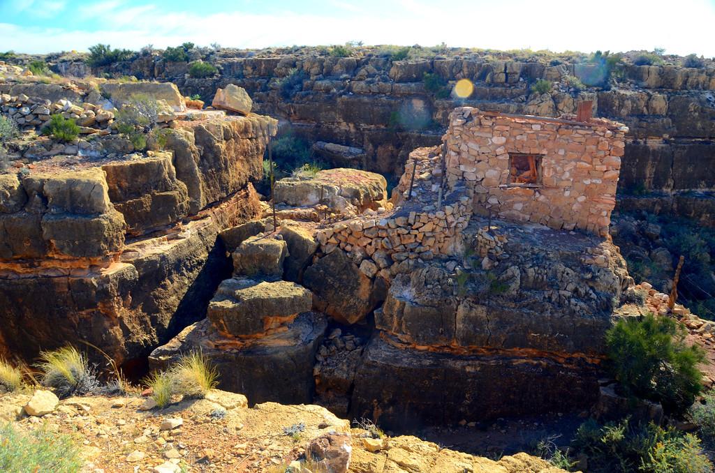 """Ruins"" at Apache Death Cave"
