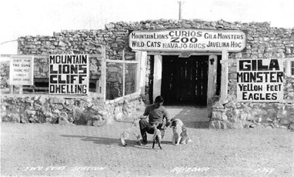 Zoo in its heyday.