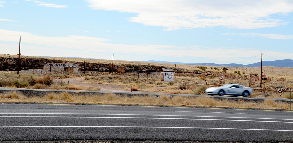 Each day thousands of vehicles pass by Two Guns exit 230 on I-40, most unaware of the history of Two Guns and the nearby Ghost town of Canyon Diablo.
