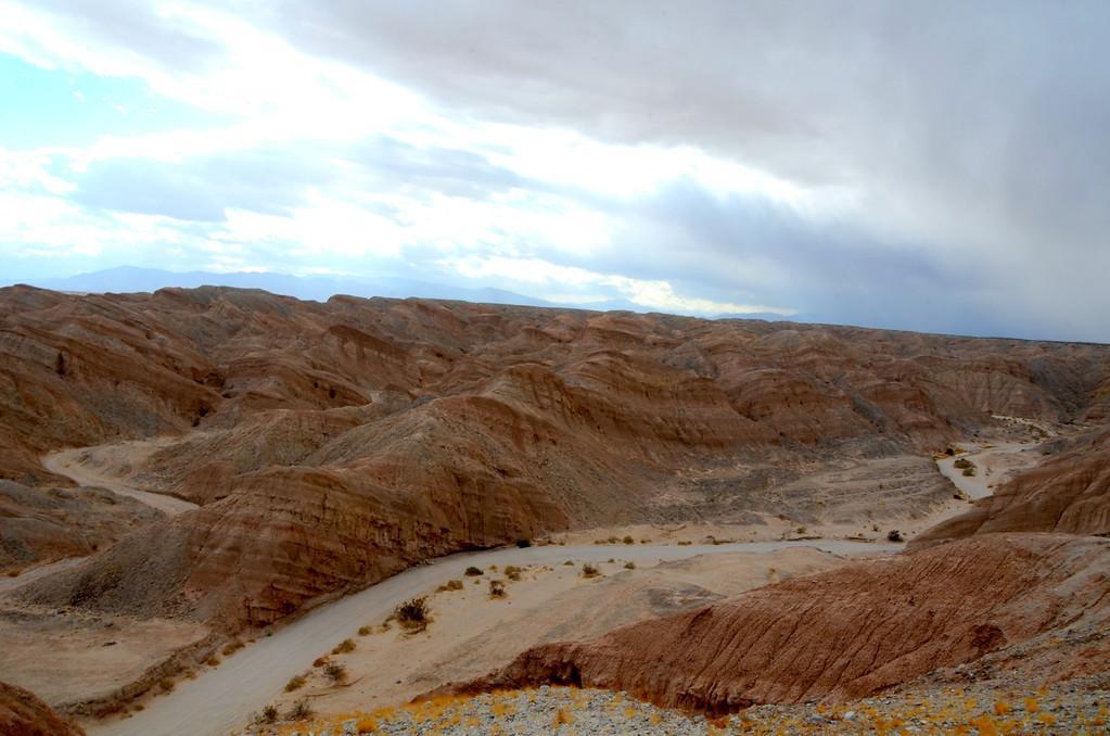 Badlands area of Anza-Boreggo