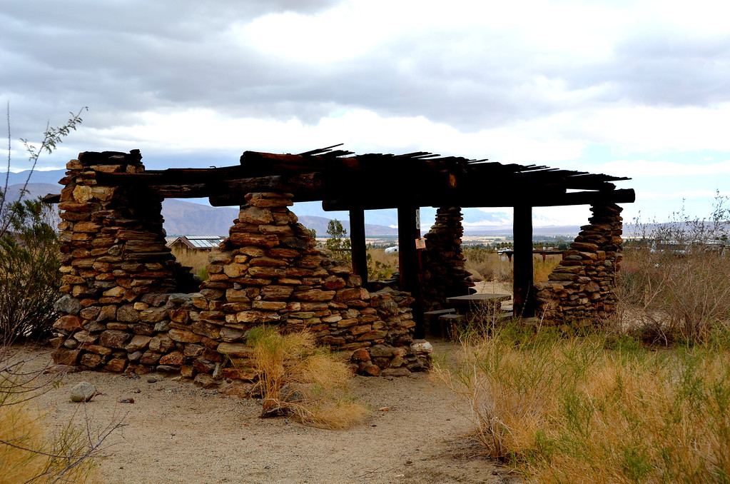 Several of the camp locations had these interesting structures, perfect for the locations.