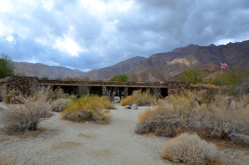 Visitor's Center for Anza-Boreggo Desert State Park.