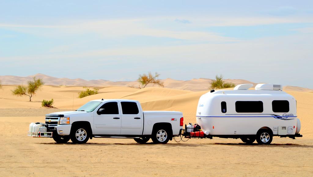 The Imperial Sand Dunes, California.