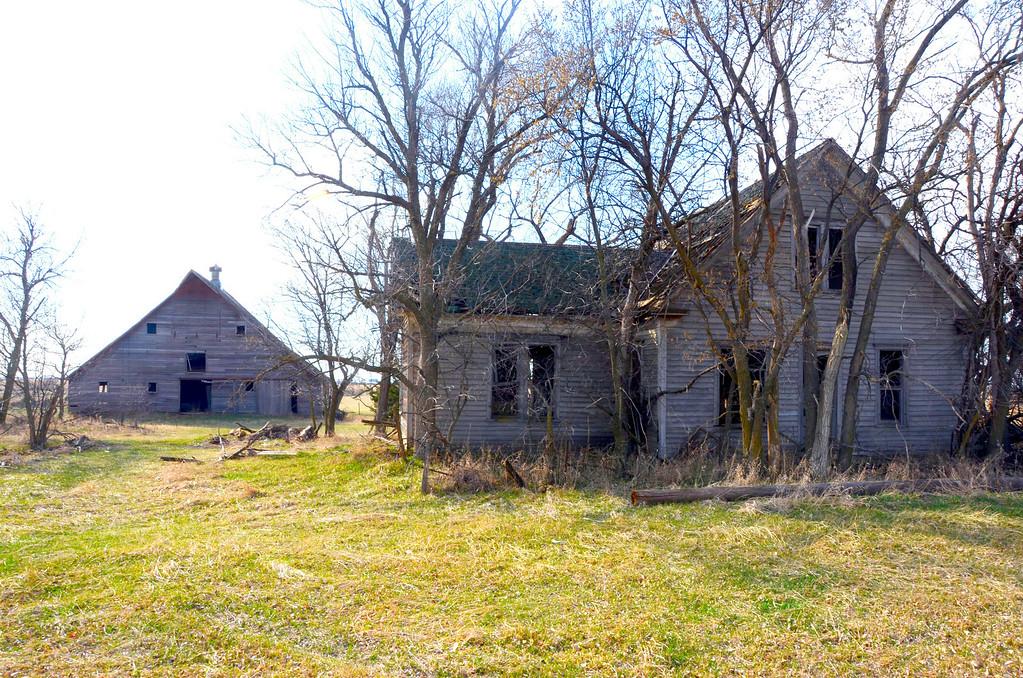I travel some backroads on my way back home to Kansas. Abandoned farms are plentiful across the backroads of Nebraska.