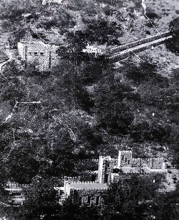 COLLINGS CASTLE / ELLSWORTH COLLINGS: The historic Collings Castle located in Turner Falls Park  photo provided by the Davis Museum.