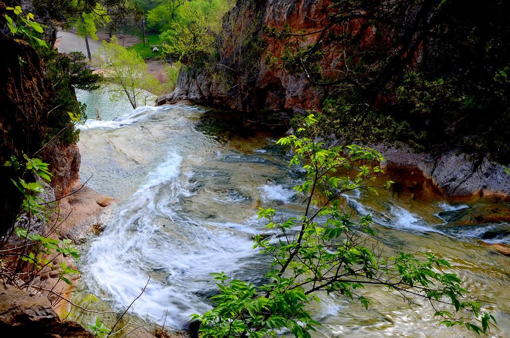 Top of Turner Falls