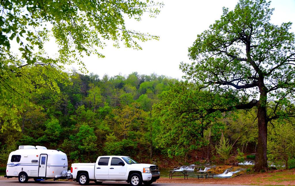 Picnic Area along Honey Creek